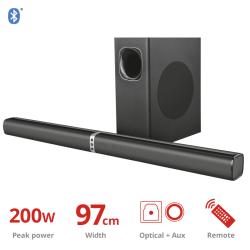 TRUST Lino XL 2.1 Detachable All-round BT Soundbar w/subwoofer