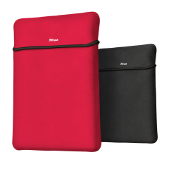"""TRUST Yvo 15.6"""" Laptop Sleeve and Wireless Mouse - Red/Black"""