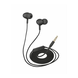 TRUST ZIVA IN-EAR HEADPHONES WITH MICROPHONE - BLACK