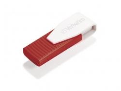 Verbatim Store n Go Swivel USB Drive Red 16GB