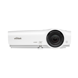 Vivitek DX28ASTAA short-throw 0.6:1, XGA, 3700 lumeni, VGA, HDMI, Composite, S-Video