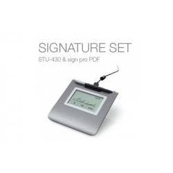 Wacom Signature Pad 4.5 inch monochrome STU-430 & Sign Pro PDF