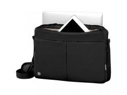 Wenger  Format 16 inch Laptop Slimcase with Tablet Pocket, Black