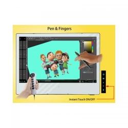 "Yiynova Monitor interactiv 27"", LED, Full HD, Format 16:9; Dual Touch"