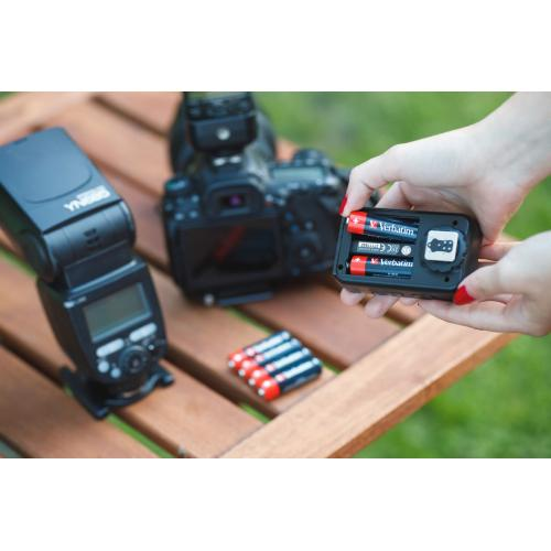 Baterii Verbatim 10 x AA (R6), AA-LR6 Mignon