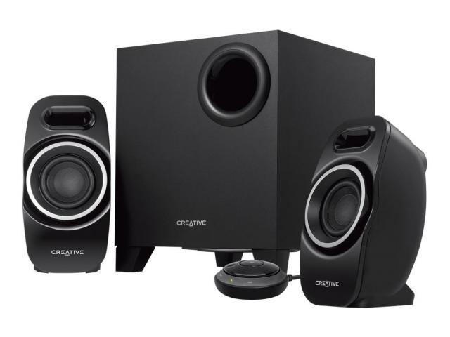 Boxe 2.1 Creative T3250W Wireless, Black