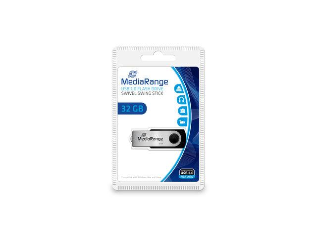 MediaRange USB 2.0 flash drive, 32GB