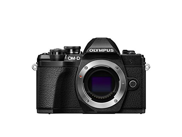 Camera foto Mirrorless Olympus E-M10 Mark III body, 16.1 MP, Black