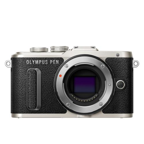 Olympus E-PL8 1442IIR Kit blk/blk (E-PL8 black + EZ-M1442IIR black - incl. Charger & Battery)