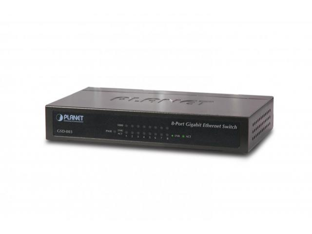 Planet  GSD-803 Home/SOHO Switch