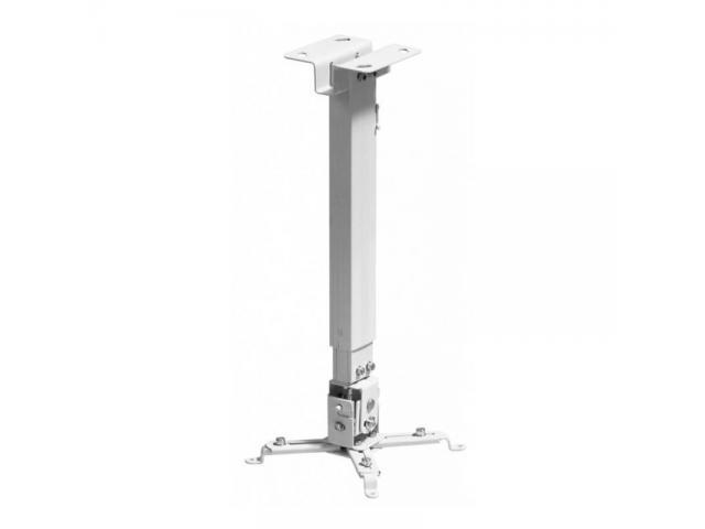 Reflecta  TAPA black  ceiling mount length 430-650mm