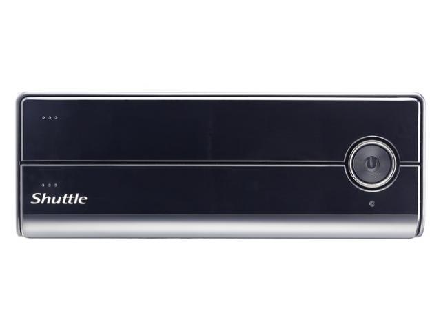 Shuttle Slim-PC Barebone XH110V 3.5 litre LGA 1151 BLACK