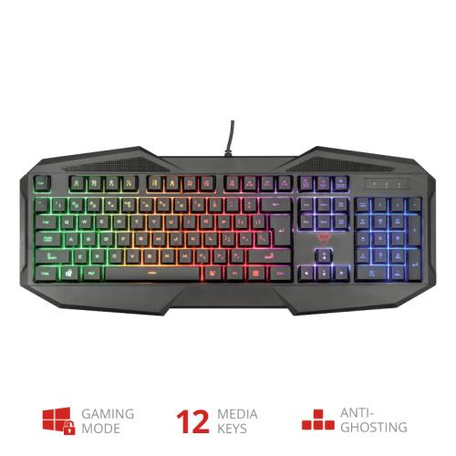 TRUST GXT 830 RW Avonn Gaming Keyboard - black