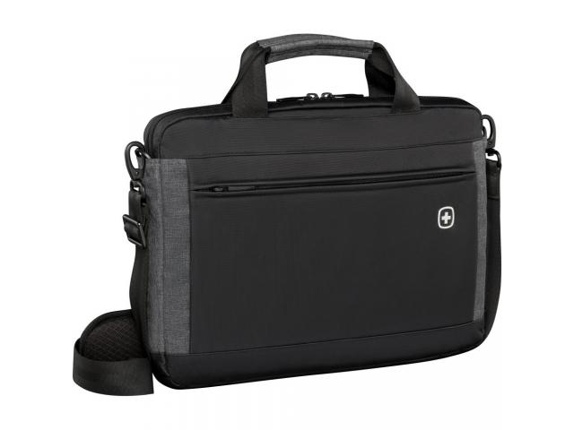 Wenger Incline, 16 inch  Laptop Slimcase w/ Tablet Pocket, Black