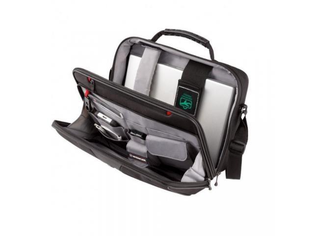 Wenger, Legacy 16 inch  Computer Case, Black